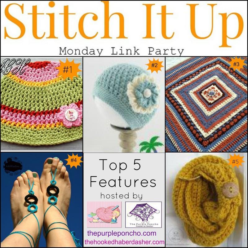 Stitch It Up Monday Link Party #2