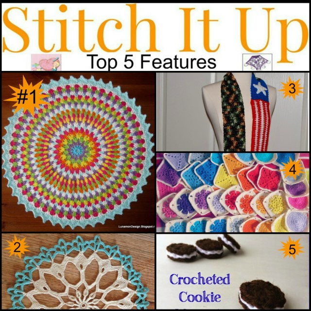 Featured on Stitch It Up #12