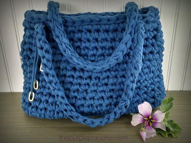 Island Breeze Bag A Free Pattern by The Purple Poncho