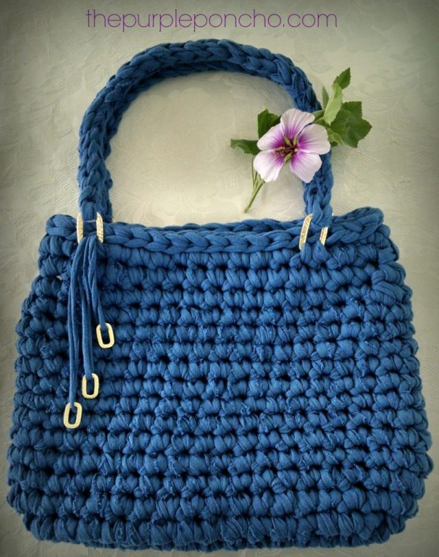 Island Breeze Bag A Free Crochet Pattern The Purple Poncho