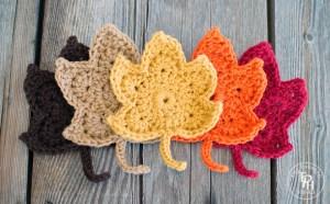 Fall-Leaves-Free-Crochet-Pattern