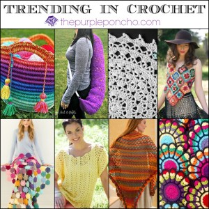Trending in Crochet on thepurpleponcho.com #7