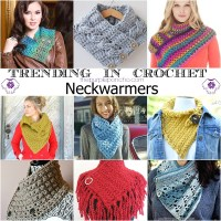 Trending In Crochet - Neckwarmers!