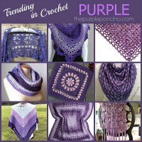 Trending In Crochet - Purple!