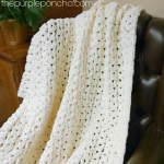 Simple Vintage Blanket – Free Crochet Pattern