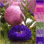 Creative Colors – Purple Floral Palette!
