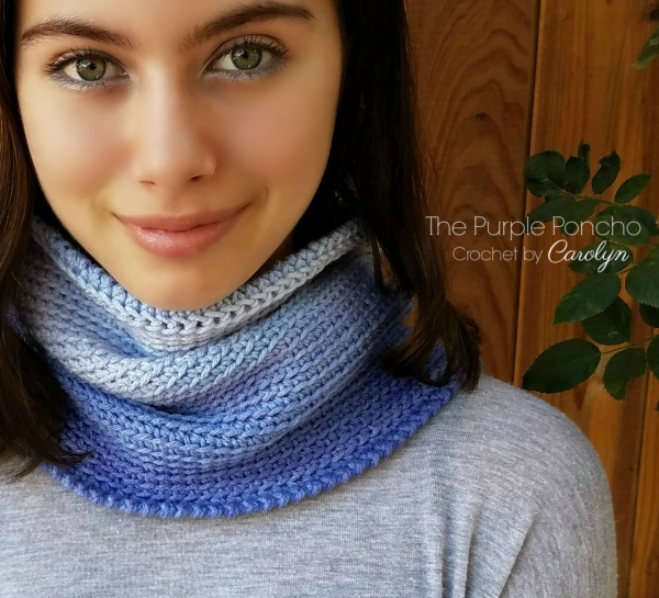 Free Crochet Pattern: Ombre Cowl