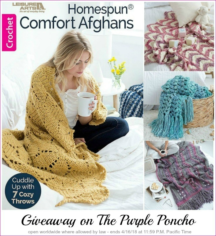 Homespun Comfort Afghans Book Review And Giveaway