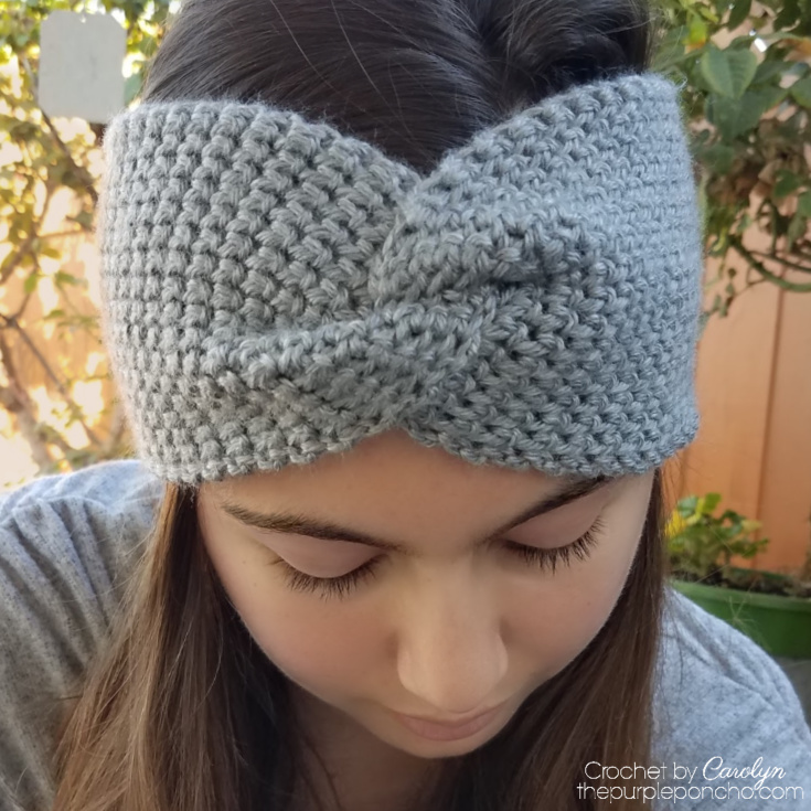 Thermal Twist Headband by Carolyn @ Purple Poncho