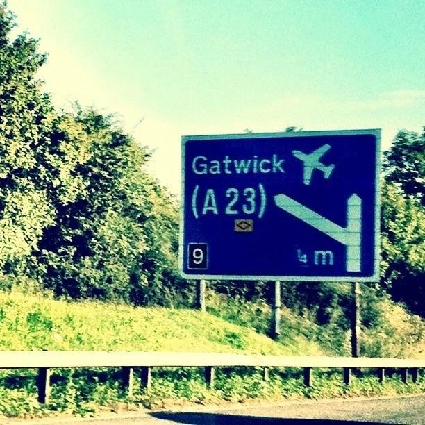 Gatwick Sign