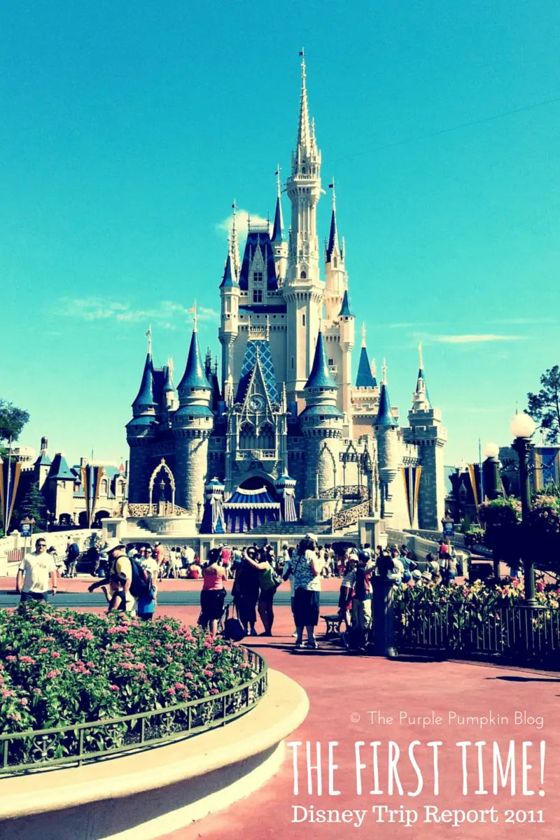 The First Time - Disney Trip Report 2011