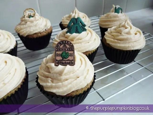Chocolate and Baileys Irish Cream Cupcakes
