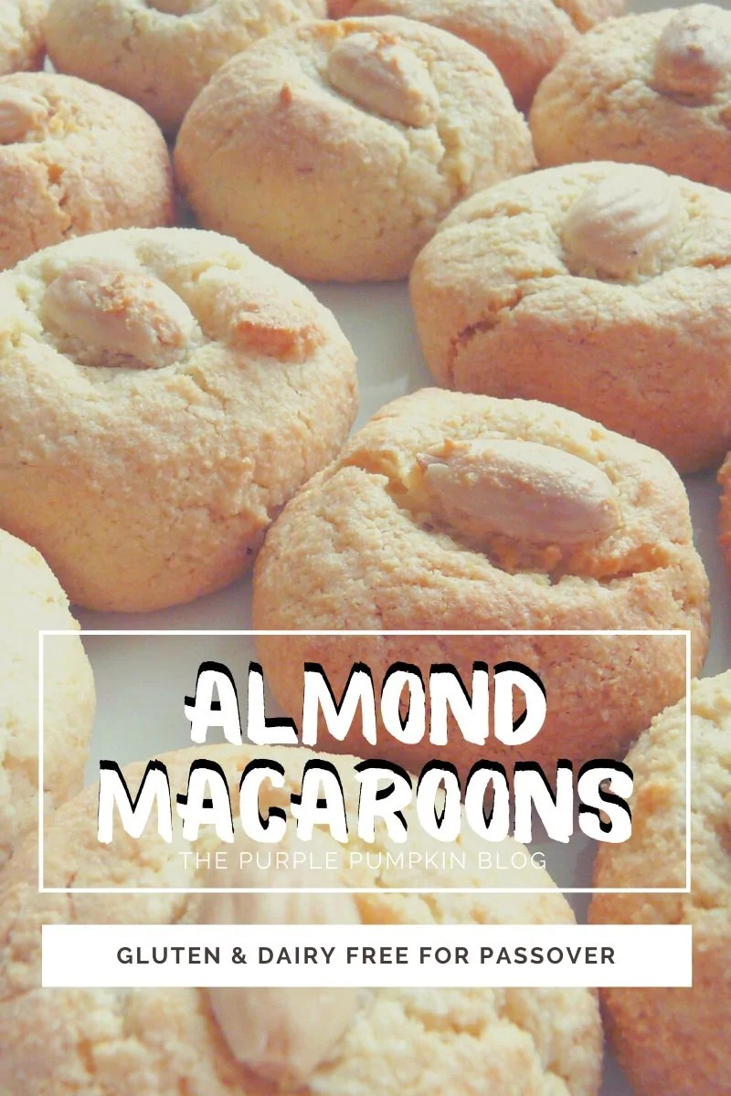 Almond Macaroons - Gluten & Dairy Free for Passover