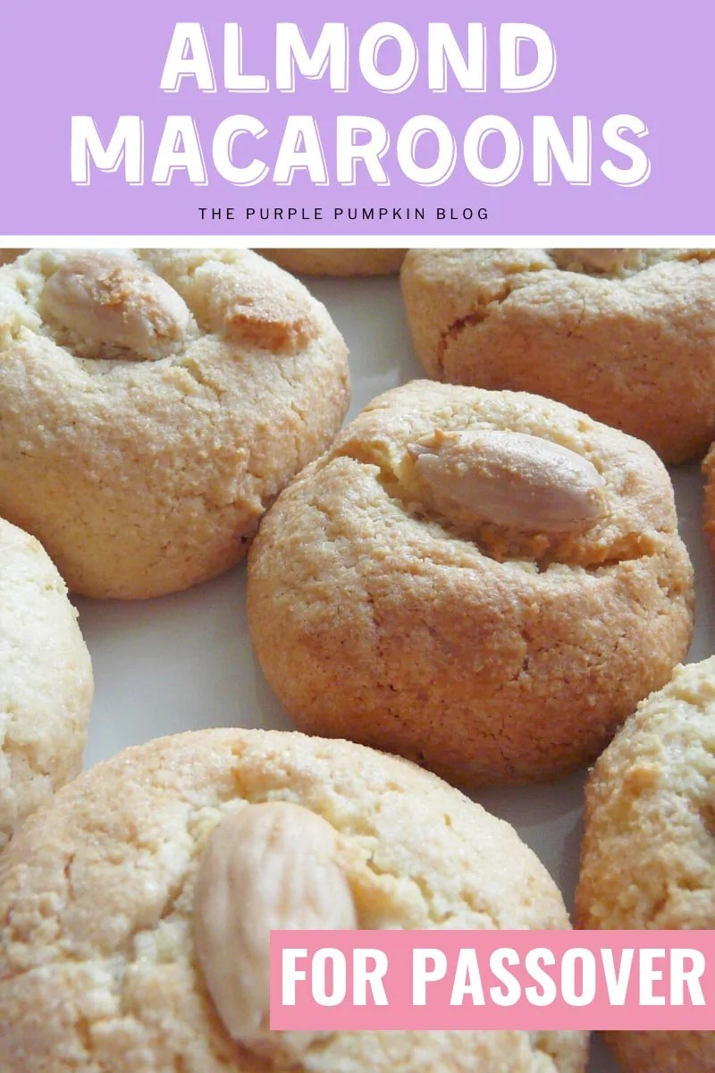 Almond Macaroons Recipe for Passover