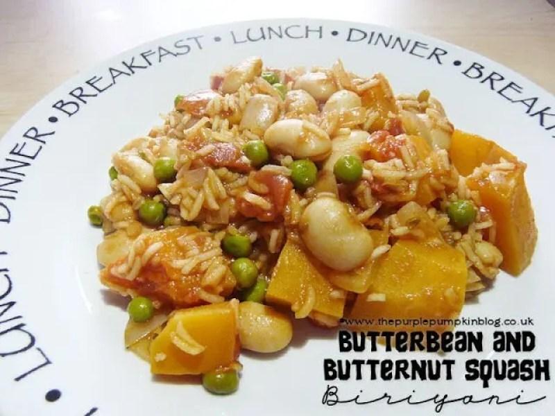 Butter Bean and Butternut Squash Biriyani