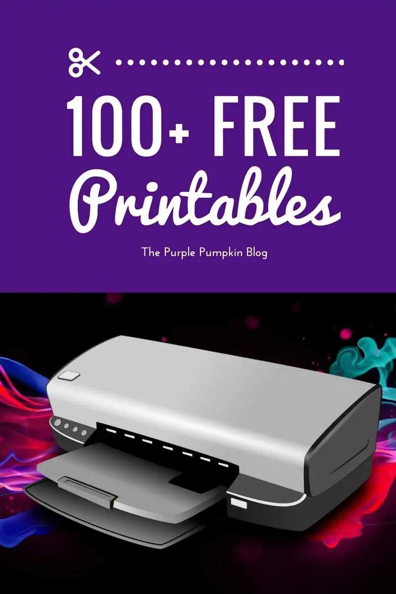 100 Free Printables