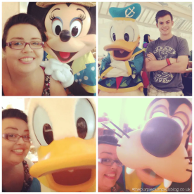 Donald Minnie Goofy Selfies
