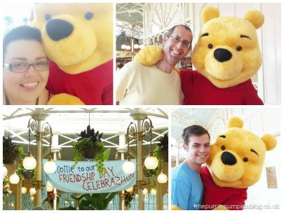 Meeting Winnie The Pooh