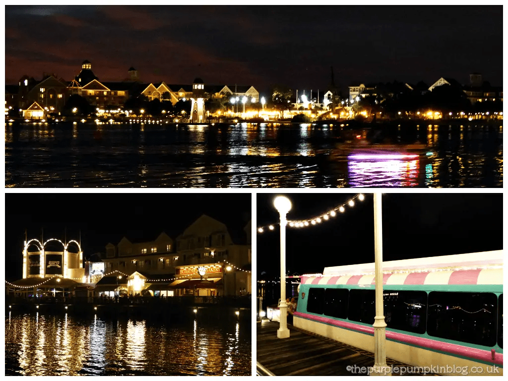 Disney Boardwalk at Night