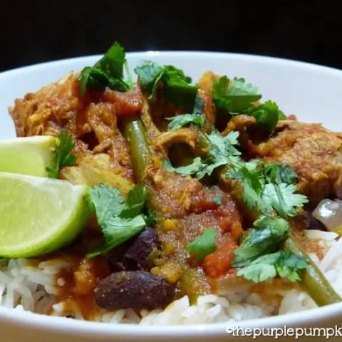 Slow Cooker Chilli Chicken & Pumpkin Stew
