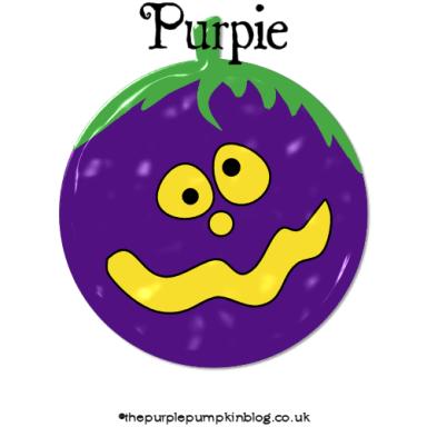 Halloween Characters 2014 - Purpie