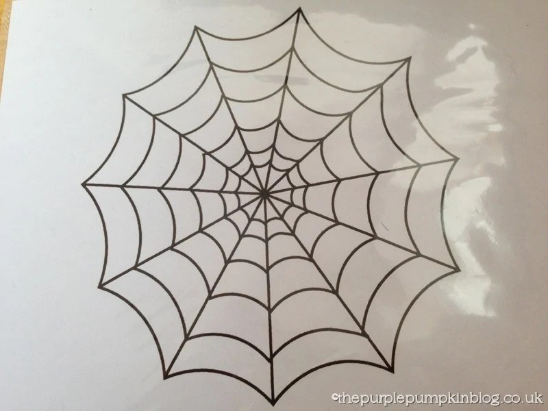 how to make glitter glue spider web halloween decorations craftyoctober how to make glitter glue spider