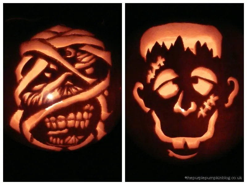 Pumpkin Carvings 2009