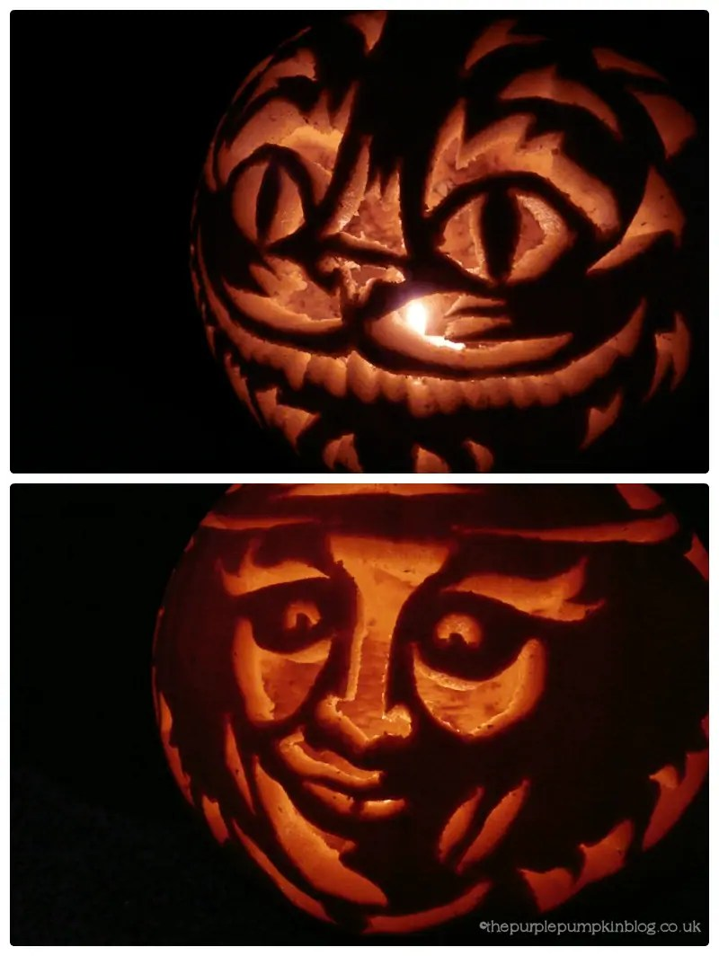 Pumpkin Carvings 2012