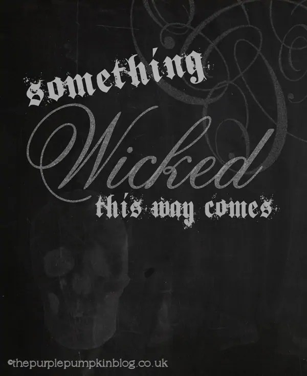 Something Wicked Halloween Poster