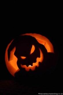 Oogie Boogie Pumpkin Carving