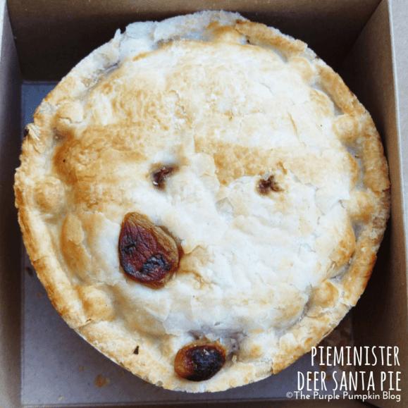 Pieminister deer santa pie