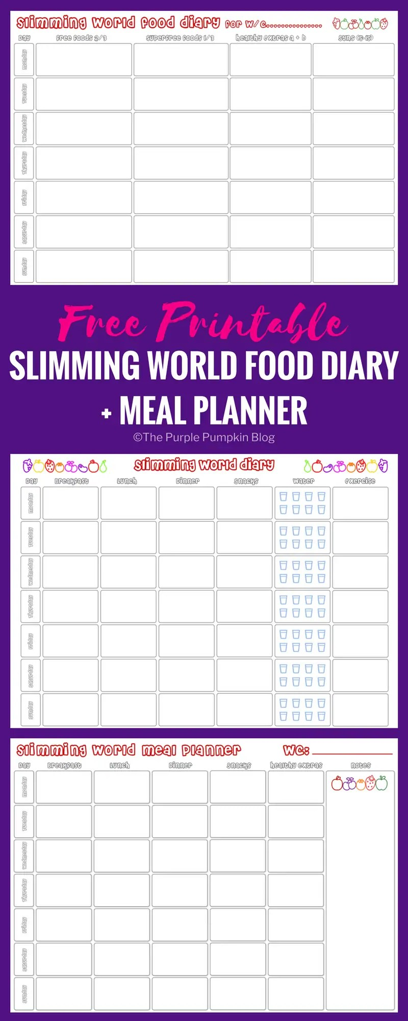 Monthly and Weekly FREE Printable Meal Planner - Printable ...