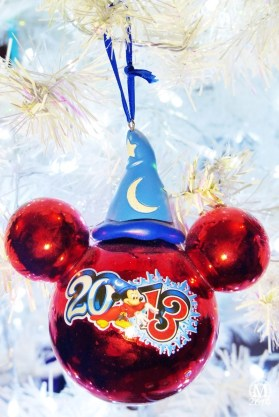 Sorcerer Mickey 2013 Christmas Ornament