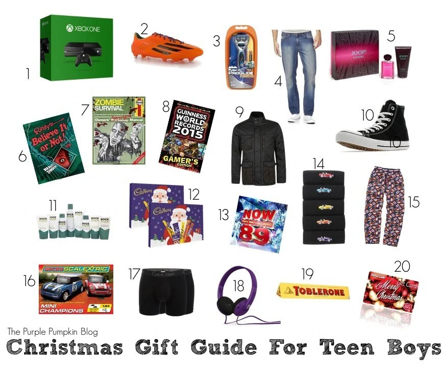 Christmas Gift Guide for Teen Boys