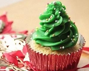 Cute Christmas Cupcakes