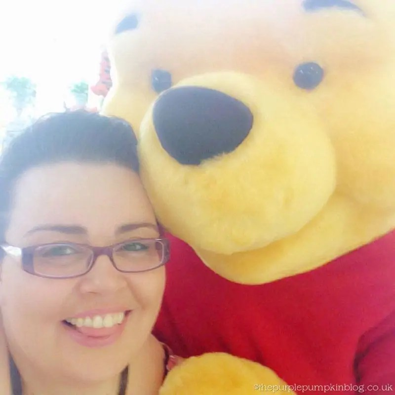 Me and Winnie the Pooh
