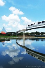 Epcot Future World - Monorail