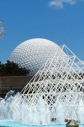 Epcot Future World Fountains