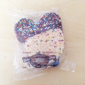 Mickey Rice Crispy Treat