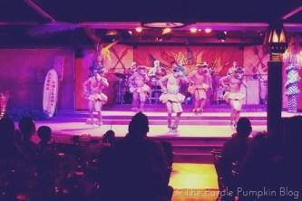 Hula Kahiko at Spirit of Aloha Dinner Show at Disney Polynesian Resort