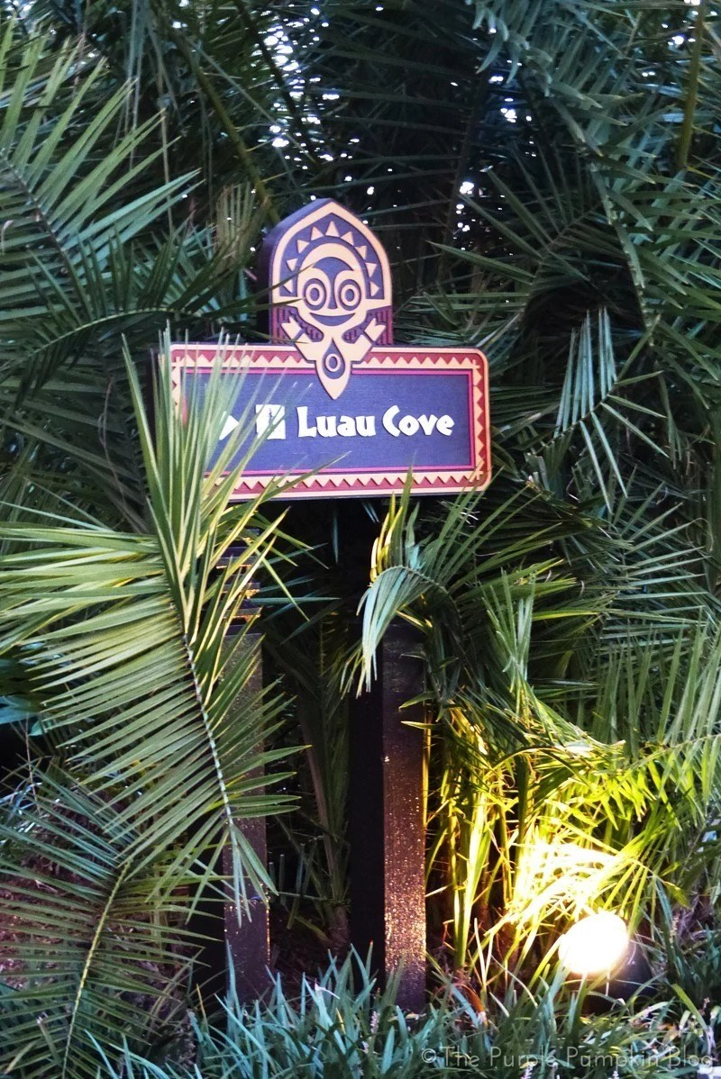 Disney's Polynesian Resort - Luau Cove