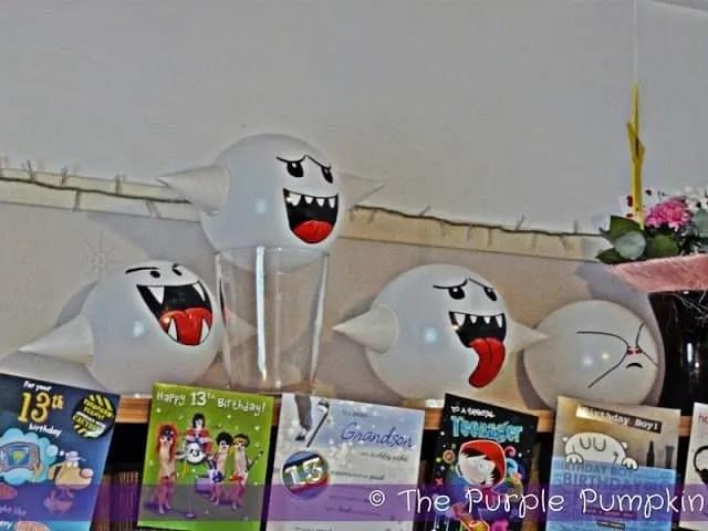 Boo Balloons