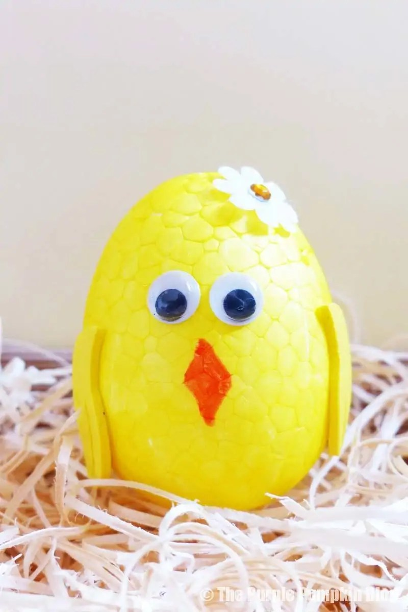 Egg Animals Craft - Chick