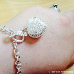 Key + Heart Bracelet