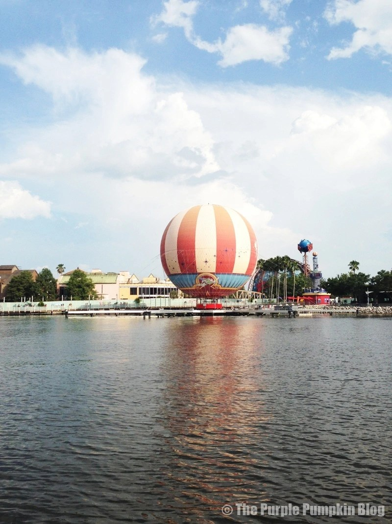 Downtown Disney - Characters in Flight
