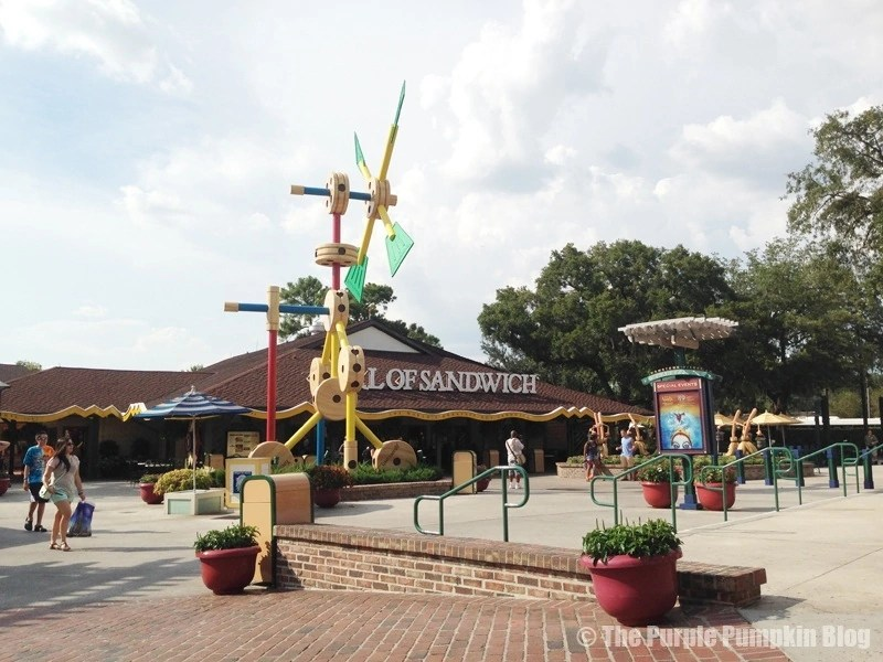 Downtown Disney - Earl of Sandwich