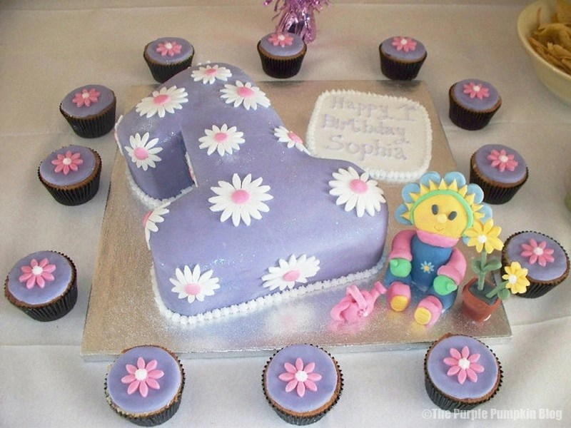 Fifi and the Flowertots 1st Themed Birthday Cake