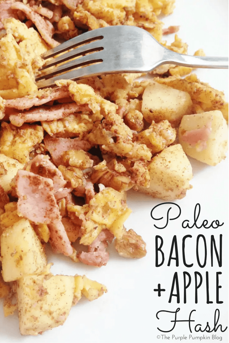 Paleo Bacon Apple Hash