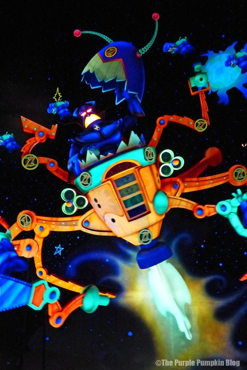 Buzz Lightyears Space Ranger Spin