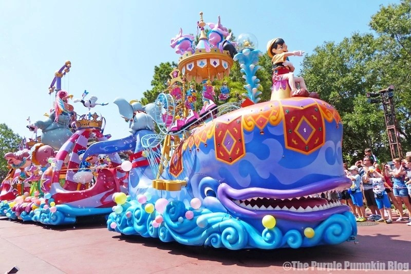 Pinocchio -Festival of Fantasy Parade at Disney's Magic Kingdom